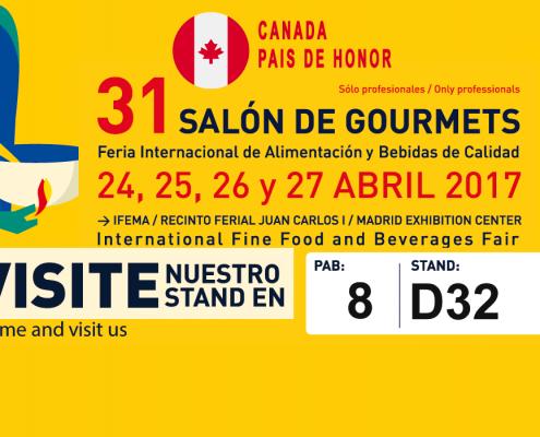 Canadá, país de honor en Salón de Gourmets