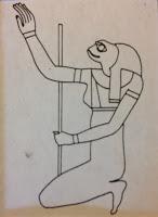 Heket; Diosa egipcia asociada a castigar con plagas de ranas.