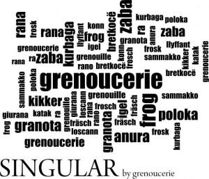 rana en idiomas sin logo